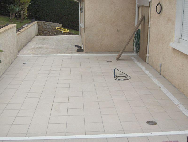 Diaporama d 39 une installation d 39 un spa dimension one en for Constructeur piscine alsace